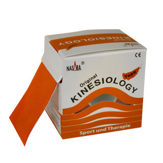 6x NASARA Kinesiologie Tape Orange